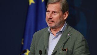 Avrupa Birliği (AB) Komisyonunun Genişlemeden Sorumlu Üyesi Johannes Hahn