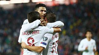 مقدماتی یورو ۲۰۲۰؛ پیروزی قاطع فرانسه و انگلستان، نزدیک شدن رونالدو به رکورد دایی