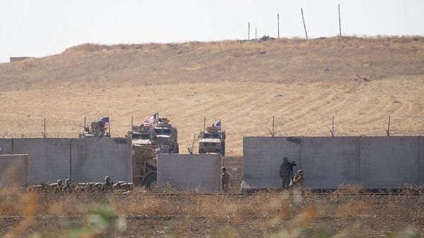 TSK ve ABD Silahlı Kuvvetleri Unsurlarının Fırat'ın Doğusuna yönelik ilk müşterek kara devriyesi başladı