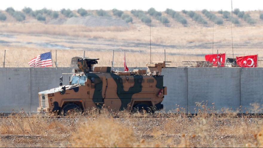 نظامیان ترکیه برای گشتزنی در کنار آمریکاییها وارد سوریه شدند