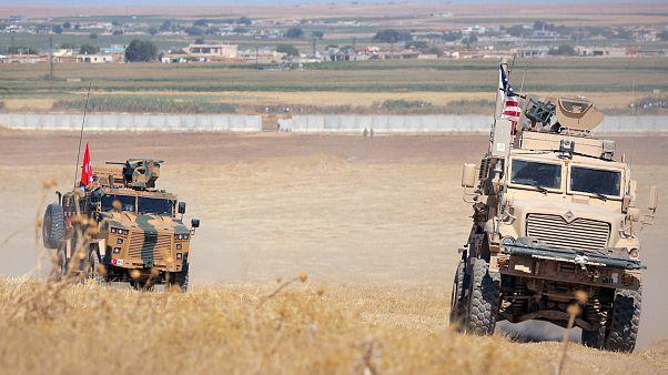 Trotz Streit um YPG: Türkische und US-Soldaten patroullieren in Syrien