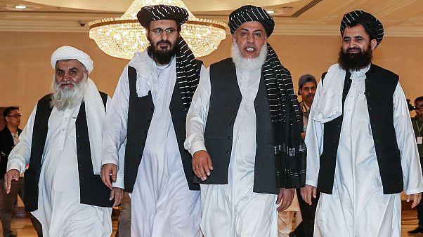 Taliban örgütü temsilcileri