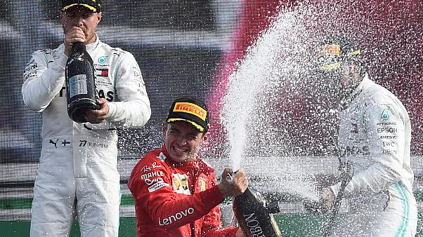 Leclerc mennybe vezette a Ferrarit
