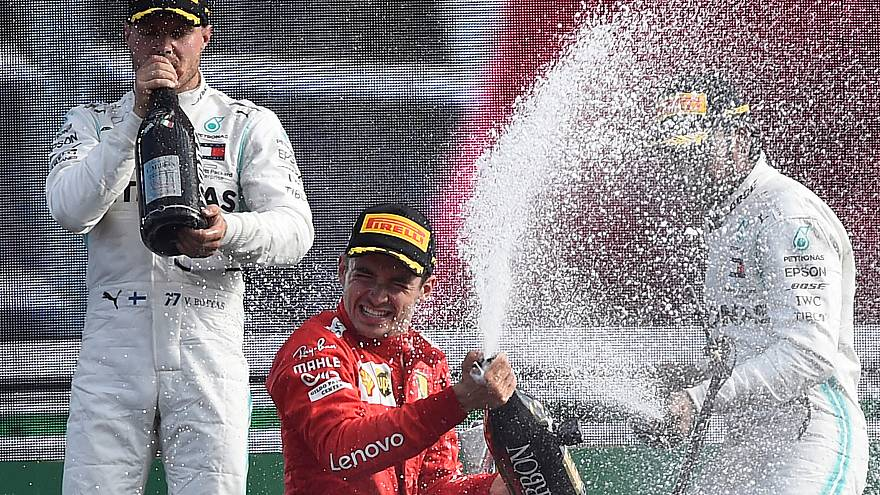 F1: Ferrari de Leclerc vence em Monza