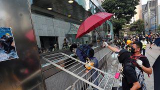 Επεισόδια στις διαδηλώσεις του Χονγκ-Κονγκ