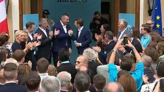 Klicsko is ringbe szállt az osztrák kampányban