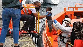 Más de cien inmigrantes llegan a las costas de Canarias desde el viernes