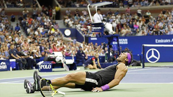 19. Grand-Slam-Triumph: Nadal schlägt Medwedew