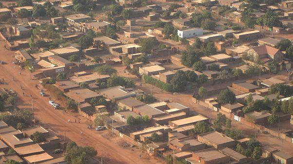 Burkina Faso'nun başkenti Ouagadougou'da bir mahalle