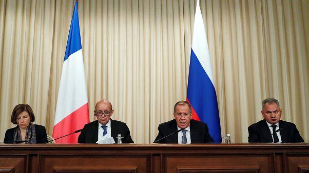 """France-Russie : """"Nos divisions nuisent à nos intérêts réciproques"""""""