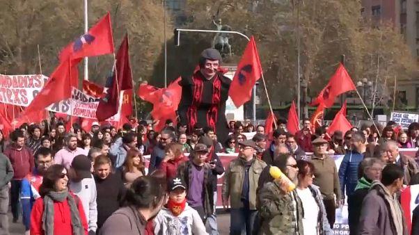 """تشيلي: مظاهرات تطالب """"بالحقيقة والعدالة"""" في ذكرى انقلاب الجنرال بينوشيه"""