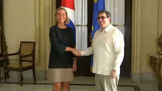 Mogherini zu Gesprächen in Kuba