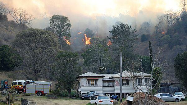 Korábban kezdődő bozóttüzek Ausztráliában
