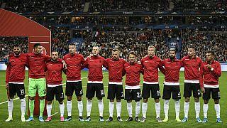Macron pide perdón a Albania después de que Francia pusiera el himno de Andorra a su selección