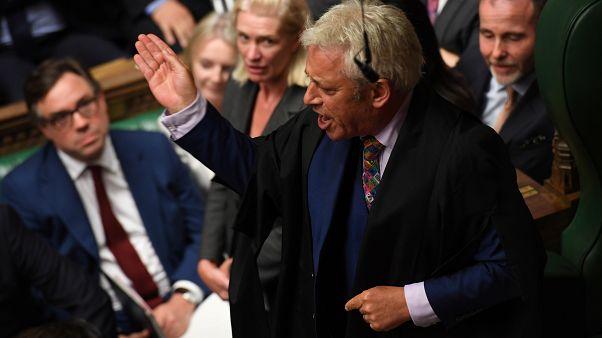 Après 10 ans à la tête de la Chambre des communes, Bercow jette l'éponge