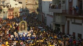 Watch: Catholics and Yoruba unite to celebrate Cuba's patron saint