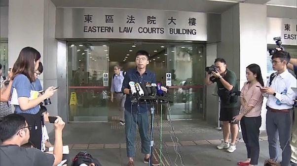Studentenführer Joshua Wong (22) aus Hongkong in Berlin