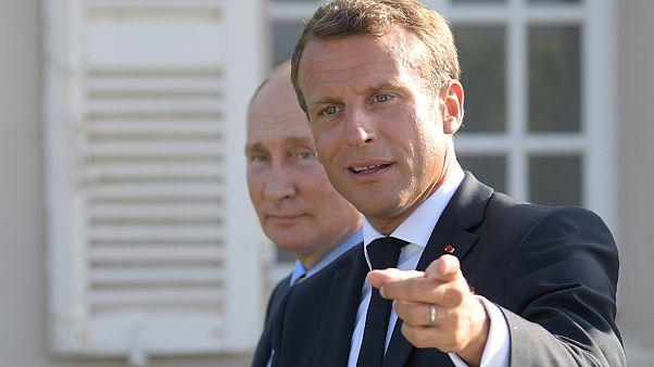 Macron és Putyin augusztusi találkozója