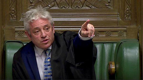 جون بركاو رئيس مجلس العموم البريطاني