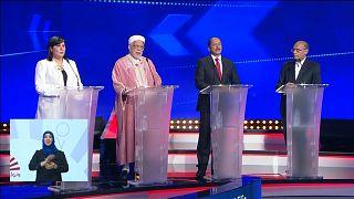 مناظرة تلفزيونية جمعت مرشحي الرئاسة التونسية - 2019