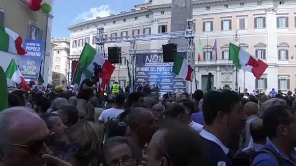 Σε θέσεις μάχης η ιταλική δεξιά κόντρα στην κυβέρνηση Κόντε νο 2