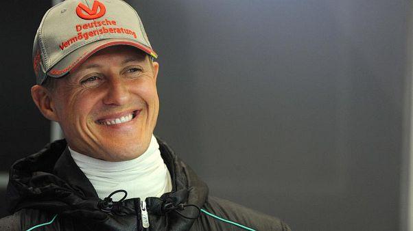 بطل العالم السابق لسباقات فورمولا 1 للسيارات مايكل شوماخر