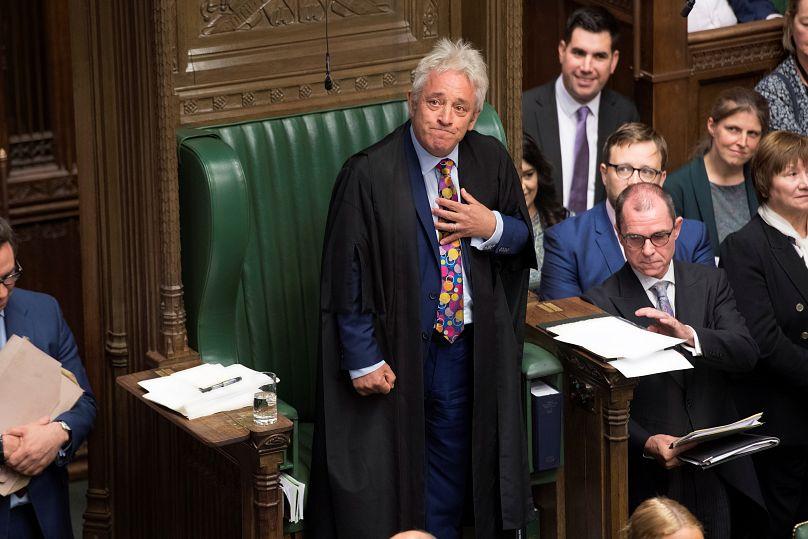 ©UK Parliament/Jessica Taylor/vía REUTERS