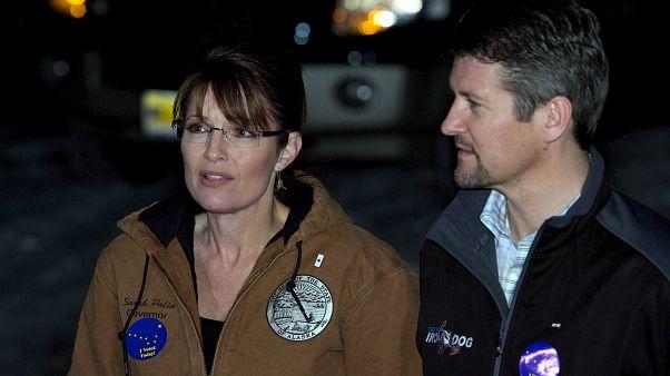 Sarah Palin és férje a kampány idején, 2008-ban