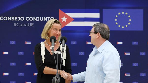 EU stresses support for Cuba even as U.S. hikes sanctions