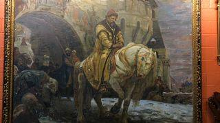 """Michail N. Panins """"Geheime Abreise von Iwan dem Schrecklichen vor der Oprichnina"""""""