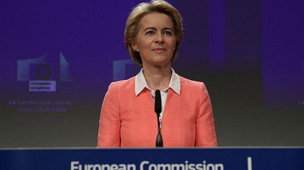 فون در لاین نام کمیسرهای پیشنهادی کمیسیون اروپایی را اعلام کرد