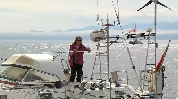 Record: 77enne britannica circumnaviga il globo in solitaria