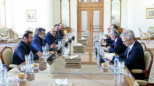 دیدار سرپرست موقت آژانس بینالمللی اتمی با وزیر خارجه ایران