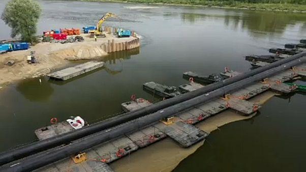 Varsói szennyvíz: lassan növelik a pótvezeték kapacitását