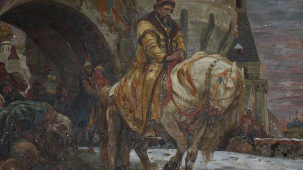 """Secret Departure of Ivan the Terrible Before the Oprichina"" by Mikhail N. Panin"