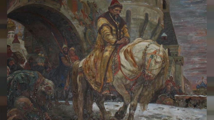 """""""Secret Departure of Ivan the Terrible Before the Oprichina"""" by Mikhail N. Panin"""