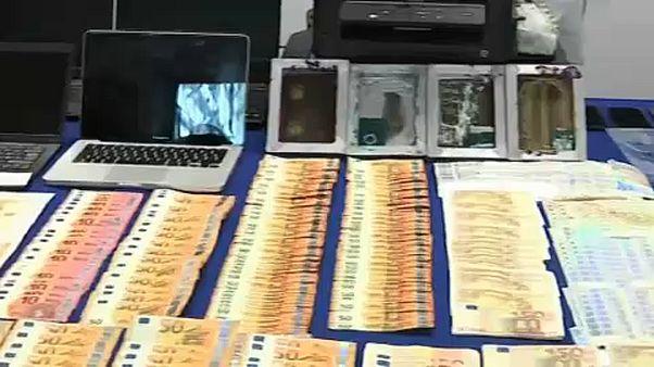 Cae una red de falsificadores de billetes que operaba en la 'dark web'