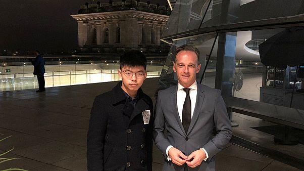 "Joshua Wong in Deutschland: ""Hongkong ist das neue Berlin"""