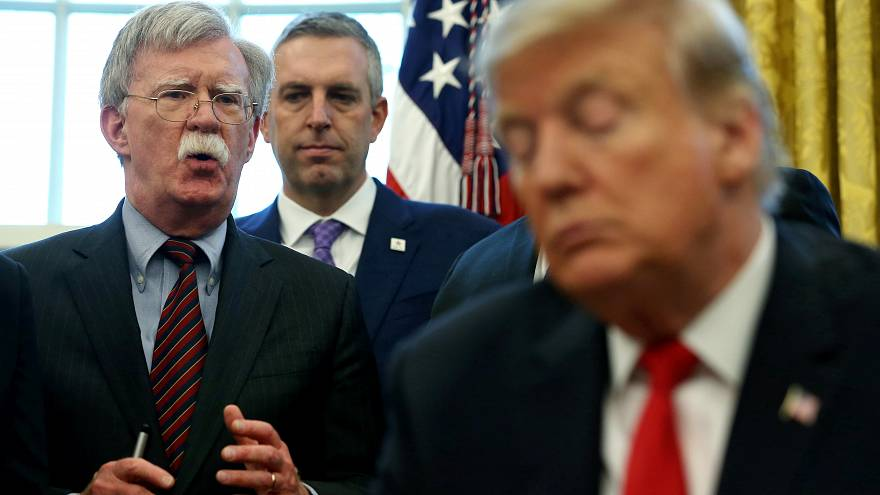 Trump despide de un plumazo al polémico John Bolton