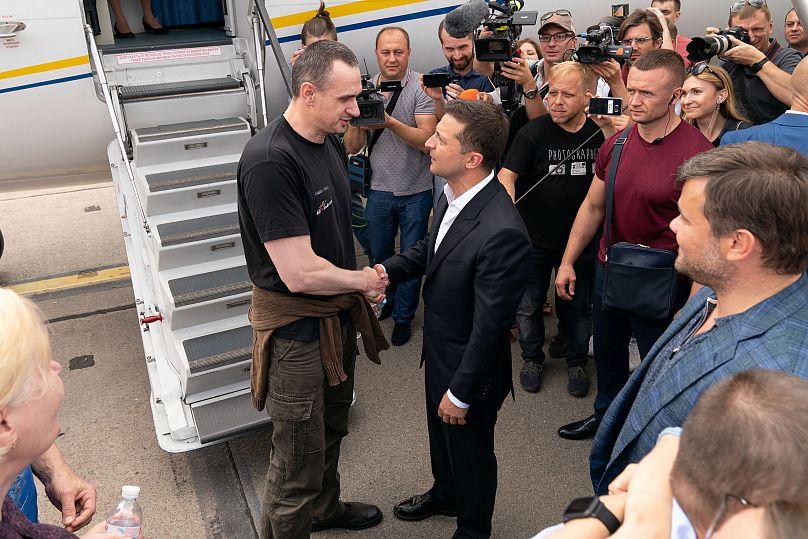 Servicio de prensa de la presidencia ucraniana / vía Reuters