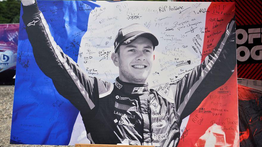 Trauerfeier für Anthoine Hubert (22) mit Mick Schumacher & Alain Prost