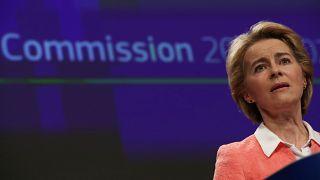 European Commission's president-designate Ursula von der Leyen in Brussels on September 10, 2019.