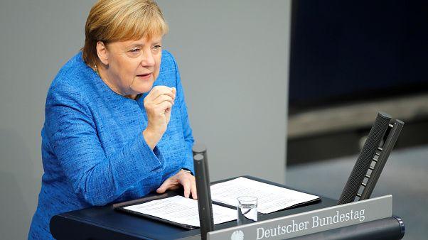 """Merkel a klímaváltozásról: """"A semmittevés nem alternatíva"""""""