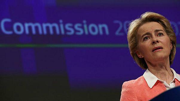 أورسولا فون دير لاين رئيسة الاتحاد الأوروبي