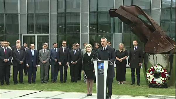 NATO remembers September 11 terrorist attacks, 18 years on