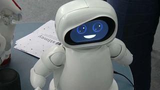 Robô e Professor