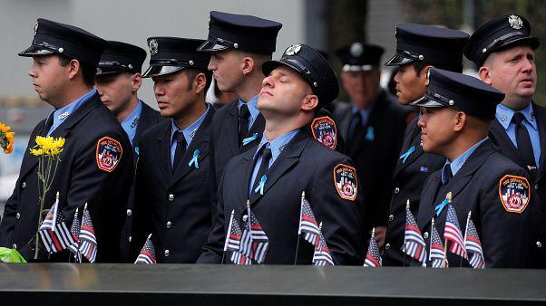 شاهد: نيويورك تحيي الذكرى 18 لهجمات 11 سبتمبر
