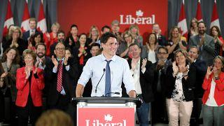 رئيس الوزراء الكندي المنتهية ولايته جاستن ترودو