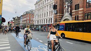Danimarka'nın başkenti Kopenhag, bisiklet dostu şehirler sıralamasında zirvede