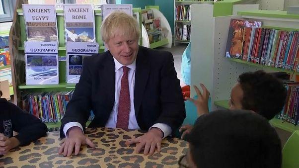 Boris Johnson in der Schule: Appel für mehr Offenheit
